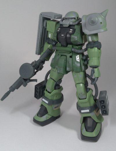 HGUCザクⅡF2その1