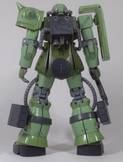 HGUCザクⅡF2その3