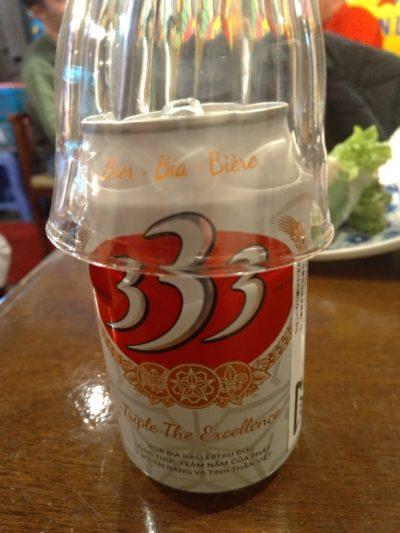 ビアホイチョップ 333ビール