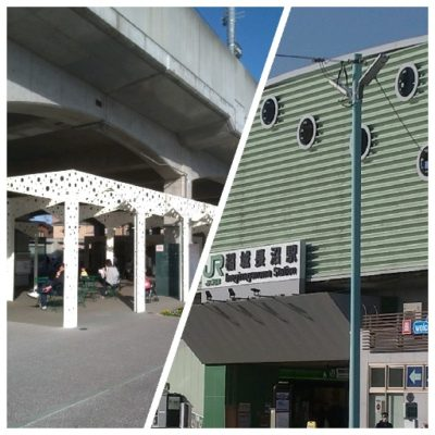 実物大ボトムズのいる稲城長沼駅