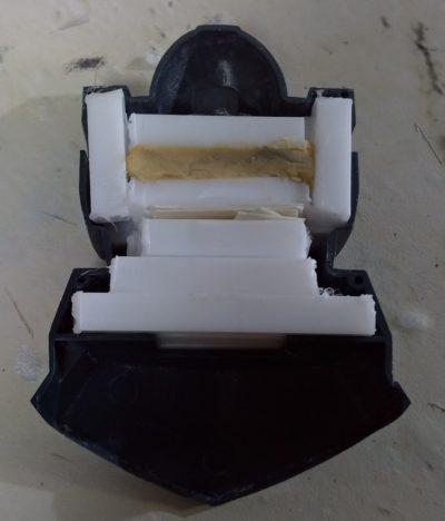 1/144プロトタイプ・ドムの胴体部分