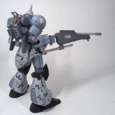 HGUCギャンリバイブ改造砲撃戦仕様4
