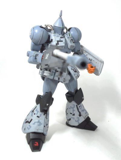 HGUCギャンリバイブ改造砲撃戦仕様3