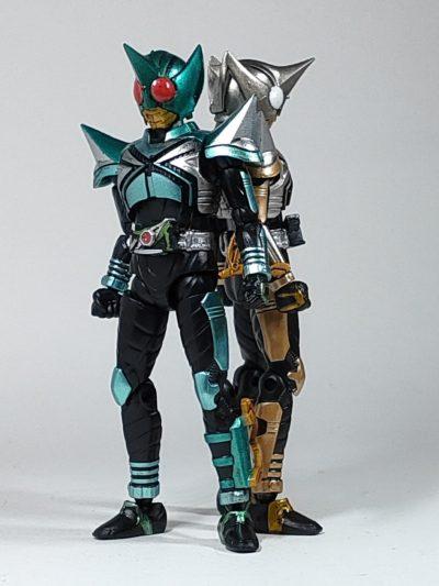 SHODO-O 掌動 仮面ライダー3キックホッパーとパンチホッパー1