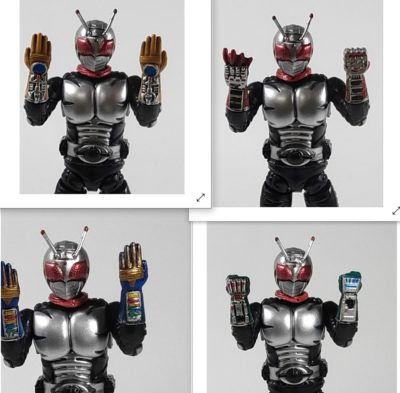 掌動 仮面ライダースーパー1_3(ファイブハンド装備状態)