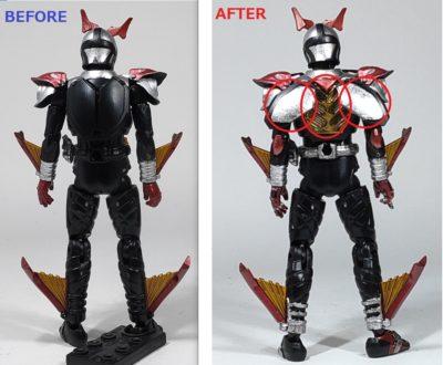 掌動 仮面ライダーカブト ハイパーフォーム3