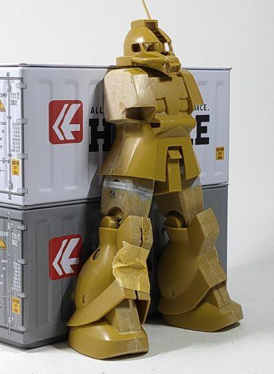 旧キット1/144 ザク強行偵察型_3