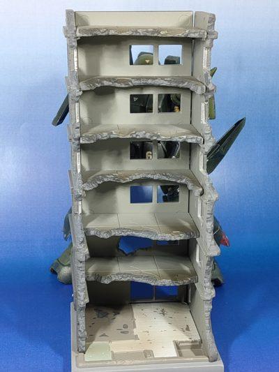 ジオコレ・コンバット 破壊されたビルA_3