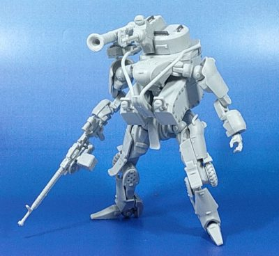 MODEROID 1/35 OBSOLETE 武装エグゾフレーム_1