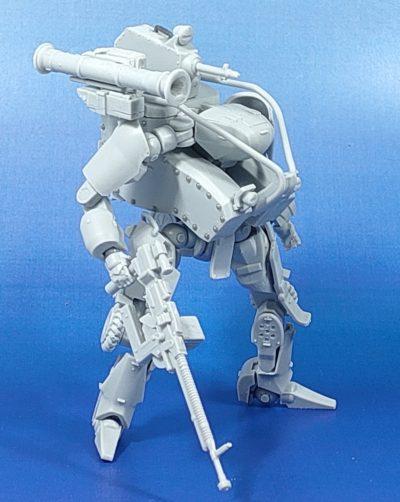 MODEROID 1/35 OBSOLETE 武装エグゾフレーム_5